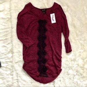 Jessica Simpson cold shoulder blouse, S